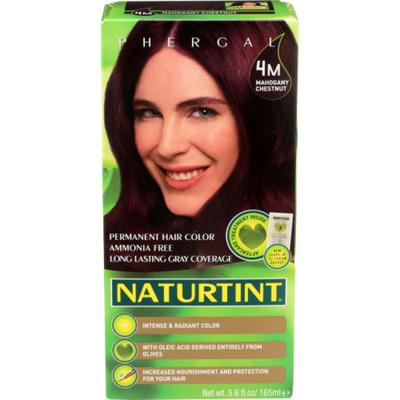 Naturtint Hair Color, 4M, Mahogany Chestnut, Permanent, Box