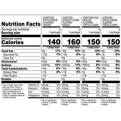 Frito Lay's Doritos® & Cheetos® Mix Variety Pack