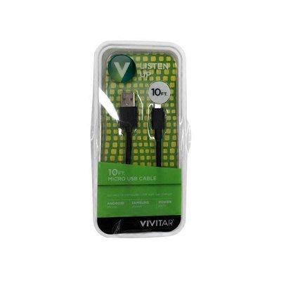 Vivitar USB Cable, Micro, 10 Feet