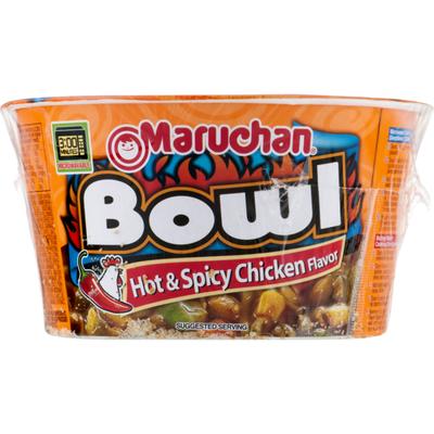 Maruchan Ramen Noodles, with Vegetables, Hot & Spicy Chicken Flavor