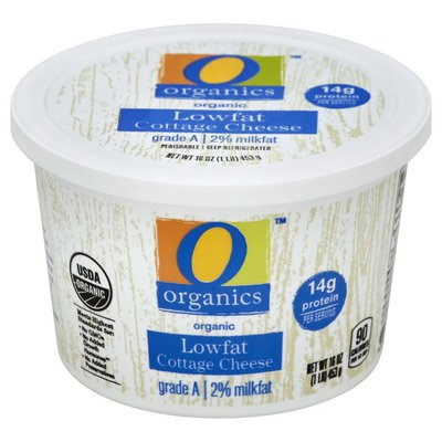 O Organics Lowfat Cottage Cheese