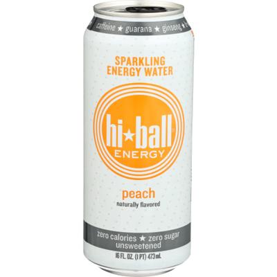 Hiball Energy Peach Energy Seltzer