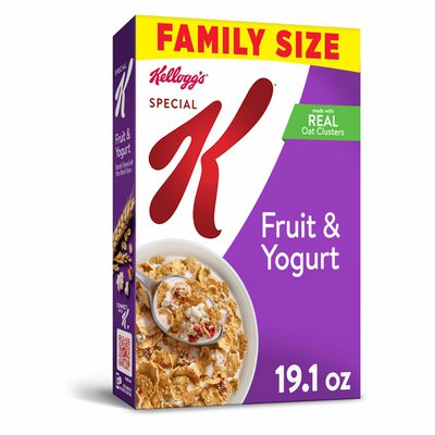 Kellogg's Special K Breakfast Cereal, 11 Vitamins and Minerals, Fruit and Yogurt