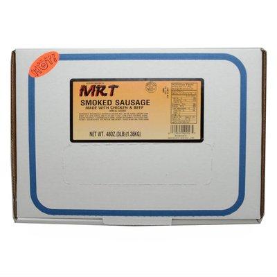 Mr. T Hot Smoked Sausage