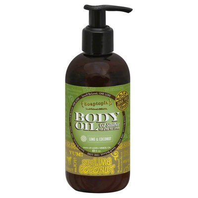 Soaptopia Body Oil, SubLime Coconut