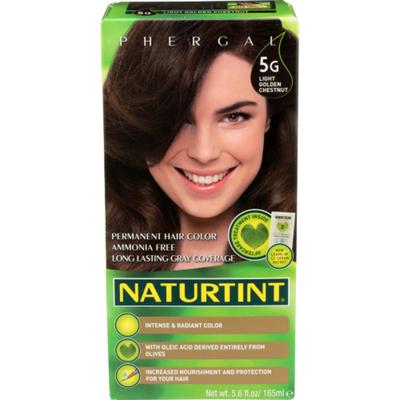 Naturtint Hair Color, Permanent, Light Golden Chestnut 5G
