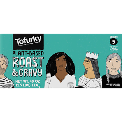 Tofurky Roast & Gravy, Plant-Based