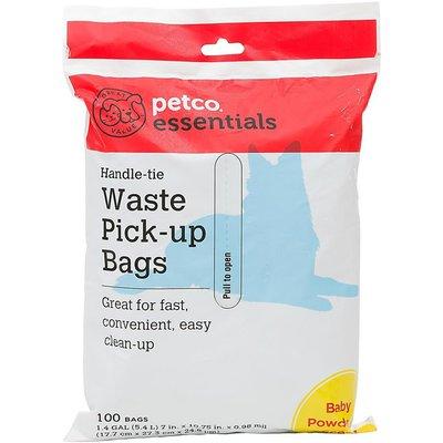 Petco Essentials Handle-tie Pet Waste Pick-up Bags