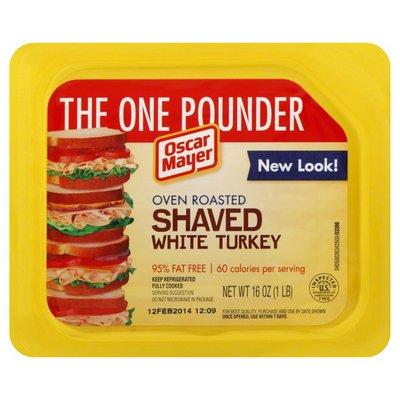 Oscar Mayer Oven Roasted Shaved White Turkey
