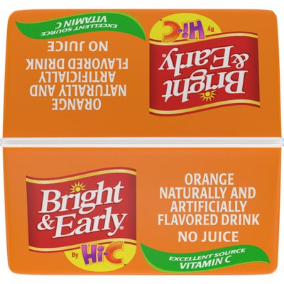 Bright And Early Orange, Flavored Drink With Vitamin C