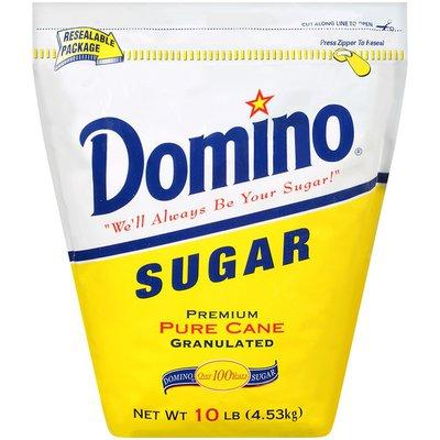 Domino Premium Pure Cane Granulated Resealable Sugar