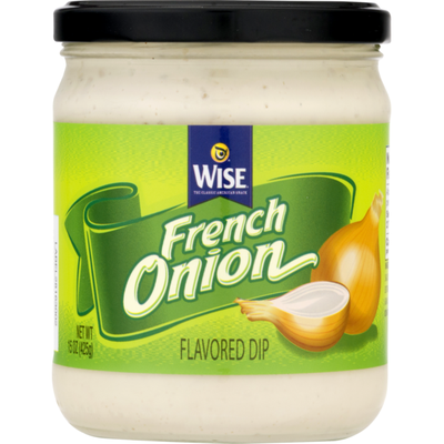 Wise Flavored Dip French Onion