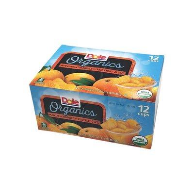 Dole Organic Mandarin Orange Bowl