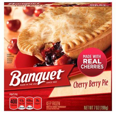 Banquet Cherry Berry Fruit Pie