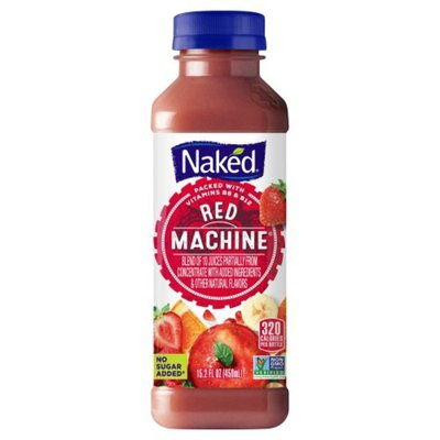 Naked Boosted Red Machine Juice Smoothie