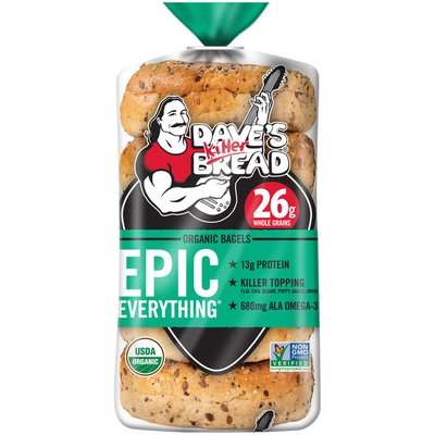 Dave's Killer Bread Epic Everything Organic Bagels