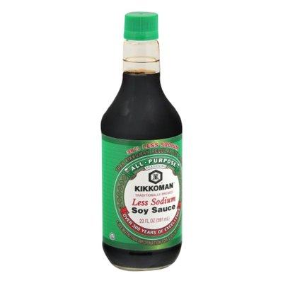 Kikkoman Less Sodium Soy Sauce