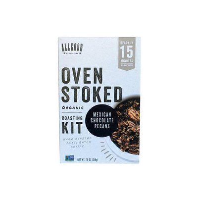 Allgood Provisions Oven Stoked Mexican Chocolate Pecans Roasting Kit