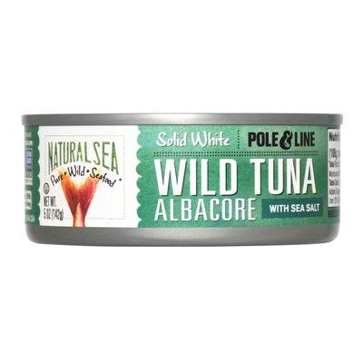 NATURAL SEA Wild Albacore Tuna, Salted, Solid White
