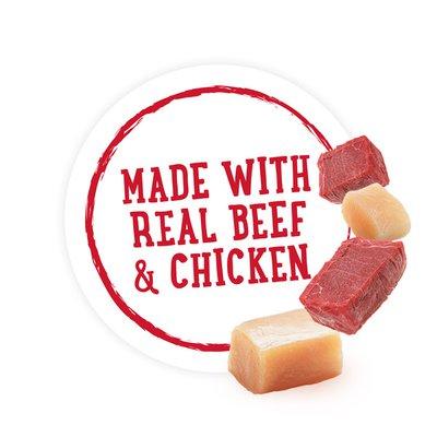 Purina Beneful High Protein, Wet Dog Food With Gravy, Prepared Meals Beef & Chicken Medley