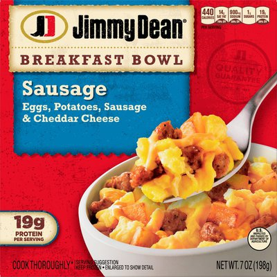 Jimmy Dean Sausage, Egg & Cheese Breakfast Bowl