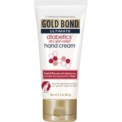 Gold Bond Hand Cream, Diabetics