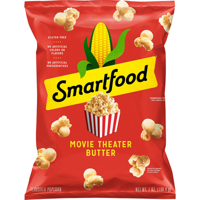 Smartfood Popcorn Movie Theater Butter Flavored Popcorn