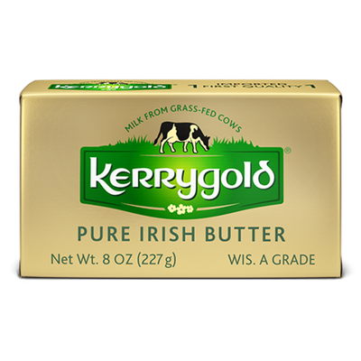 Kerrygold Grass-Fed Pure Irish Salted Butter Foil,  (WI)