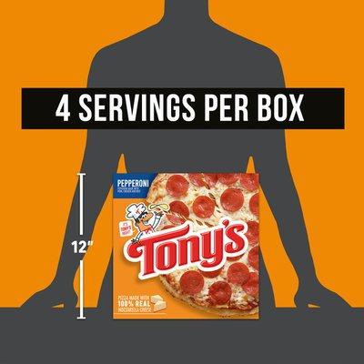 Tony's Pizzeria Style Crust Pepperoni Pizza