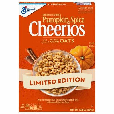 Pumpkin Spice Cheerios Cereals, Pumpkin Spice
