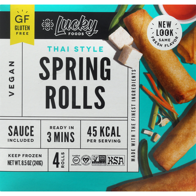 Lucky Foods Spring Rolls, Thai Style
