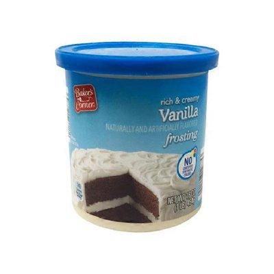 Baker's Corner Rich & Creamy Vanilla Frosting