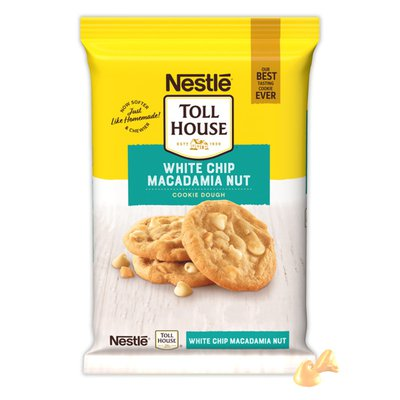 Toll House TOLL HOUSE White Chip Macadamia Nut Cookie Dough