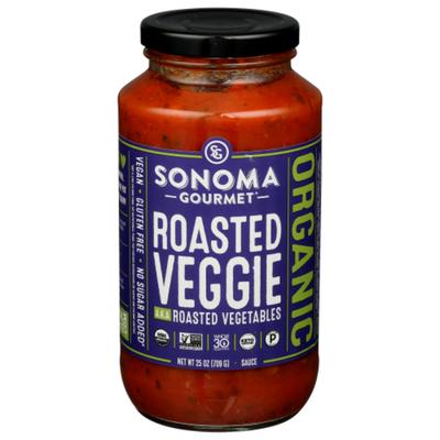 Sonoma Gourmet Sauce, Organic, Roasted Veggie