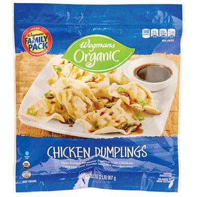 Wegmans Organic Chicken Dumplings, FAMILY PACK