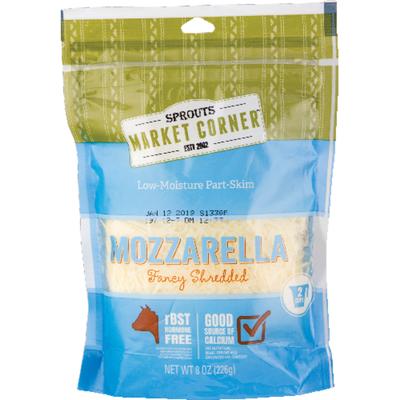 Sprouts Shredded Mozzarella Cheese