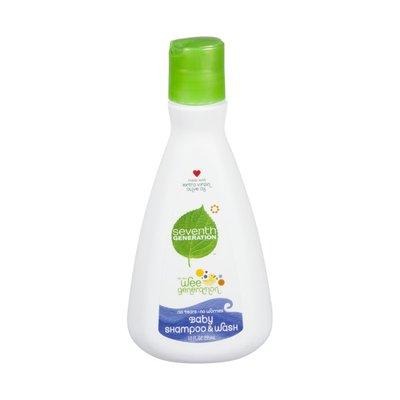 Seventh Generation Baby Shampoo & Wash