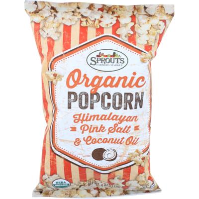 Sprouts Organic Pink Salt Coconut Popcorn