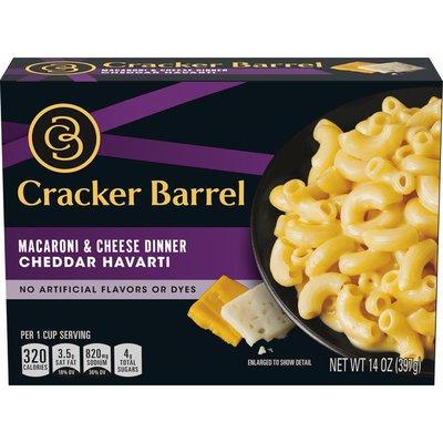 Cracker Barrel Cheddar Havarti Macaroni & Cheese Dinner