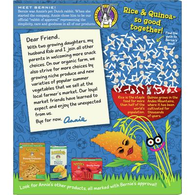 Annie's Organic Original Crispy Snack Bars, Gluten Free, 5 Count