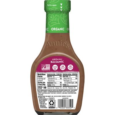 Annie's Balsamic Vinaigrette Salad Dressing, Non-GMO