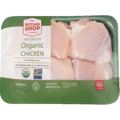 Sprouts Organic Boneless Chicken Thigh