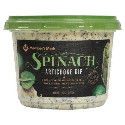 Member's Mark Spinach Artichoke Dip