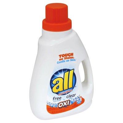 all Detergent, Oxi