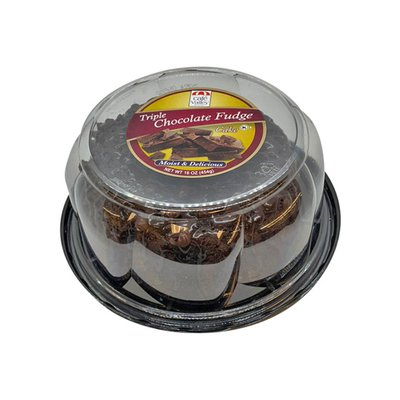 Cafe Valley Bakery Cake, Triple Chocolate Fudge