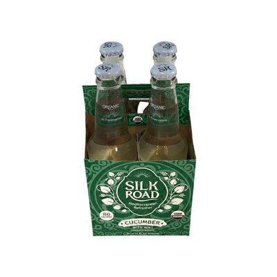 Silk Road Organic Cucumber Sparkling Beverage