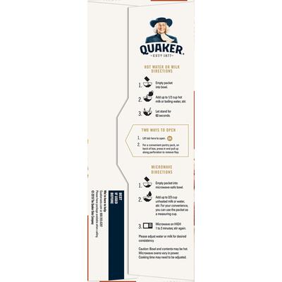 Quaker Cinnamon & Spice Instant Oatmeal