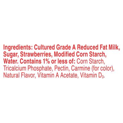 Yoplait Yogurt, Lowfat, Original, Strawberry