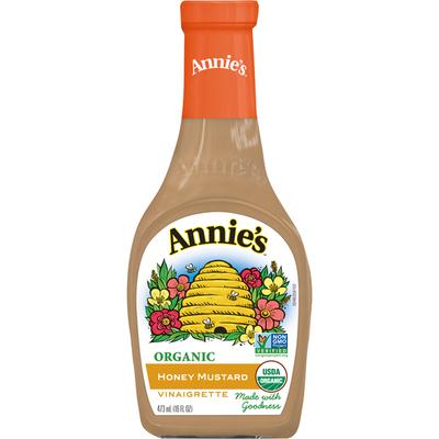 Annie's Vinaigrette, Organic, Honey Mustard