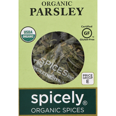 Spicely Organics Parsley, Organic